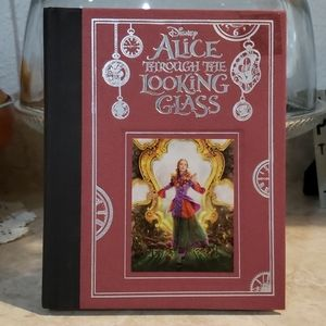 Alice through the looking glass book Disney